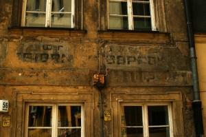 widoczne ślady po Breslau