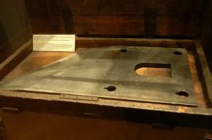 nóż od gilotyny 35 kg stali