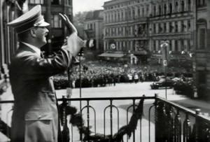 Hitler na balkonie