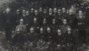 Liskowska straż ogniowa w 1930 roku.