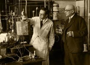 Fritz w laboratorium