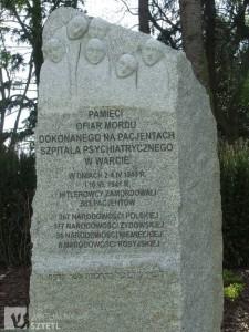 Pomnik pomordowanych pacjentów