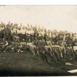 pamiątka defilady nowa wieś Podgórna 1937 zdjęcie nad Warta