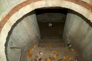 wejście do komoru amunicyjnej 58c