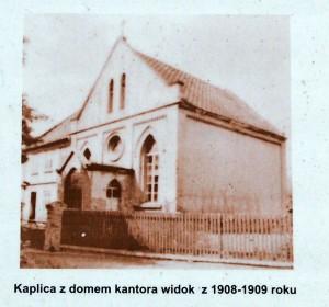 Kaplica widok z 1908-1909
