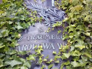 Płyta synowej Karola Teodora Weila.