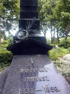 Grób Władysława Jannasza.