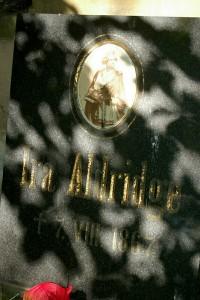 Grobowiec Ira Aldrige.