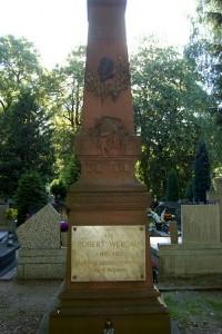 Grobowiec Roberta Wergau.