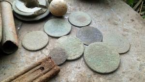 zbliżenie na monety