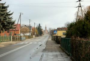 Widok na ulice Ks. Blizińskiego