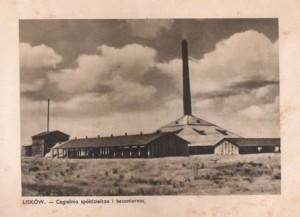 Cegielnia i betoniarnia, własność Towarzystwa Budowlanego.