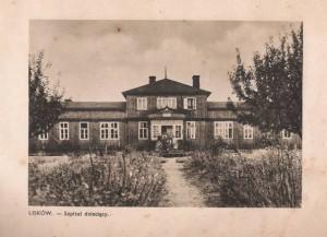 Szpital w Liskowie rozebrany w czasie wojny