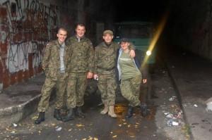my w schronie kolejowym w Jeleniu