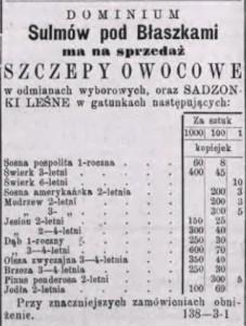 Gazeta Kaliszanin 1887 nr 20.