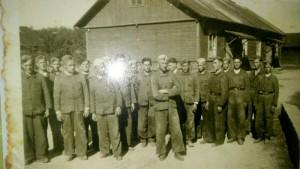 grupa robotników z Baudiest Kaletnik 1944 rok