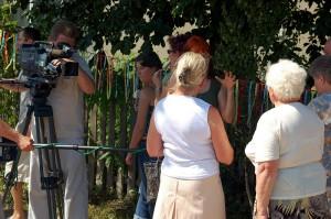 Mieszkańcy są dumni ze swego dzieła i cżęsto udzielają wywiadów