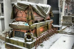 Typ grobu sarkofagowego.