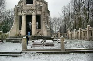 Mauzoleum Izraela Poznańskiego.