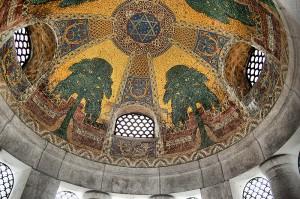Mozaika na suficie