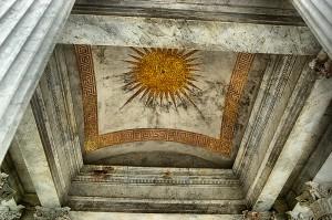 Mozaika stropu mauzoleum