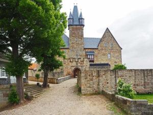 zamek Schloss Spangenberg